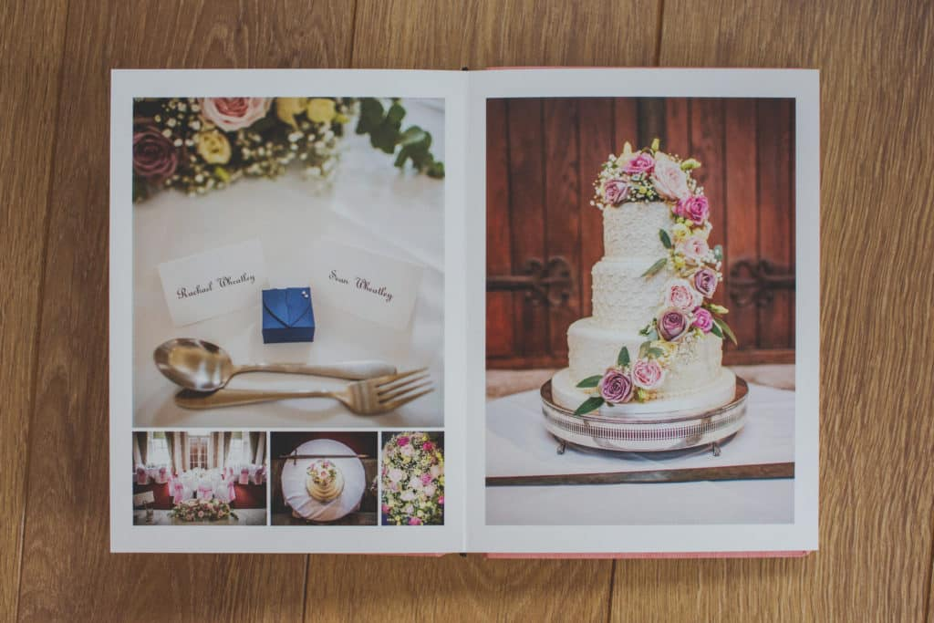 West Yorkshire Wedding Photography Bespoke Wedding Album