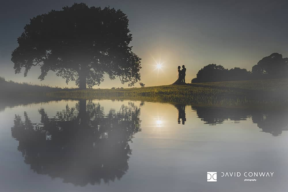 bride-and-groom-silhouette-wedding-photography-sun-relfection-tree-romantic-couple-photographer-from-west-yorkshire